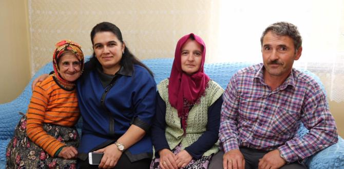 Bayan Yavuz, 6 Engelli Ailesini Ziyaret Etti