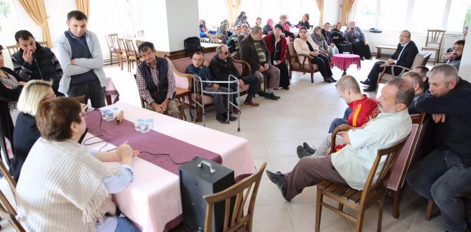 Bayan Yavuz, Engellilerin İstişare Toplantısının Konuğu Oldu