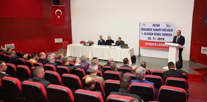 Fatsa OSB Genel Kurulu Yapıldı