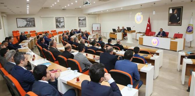 İl İdare Şube Başkanları Toplantısı, Vali Yavuz Başkanlığında Yapıldı