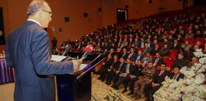2019 Yılının İlk Muhtarlar Toplantısı Yapıldı