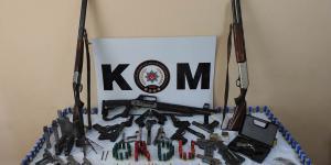Ordu'da silah kaçakçılığı operasyonu