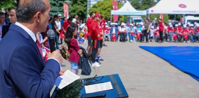19 Mayıs Atatürk'ü Anma, Gençlik ve Spor Bayramı Coşkuyla Kutlandı(2019)