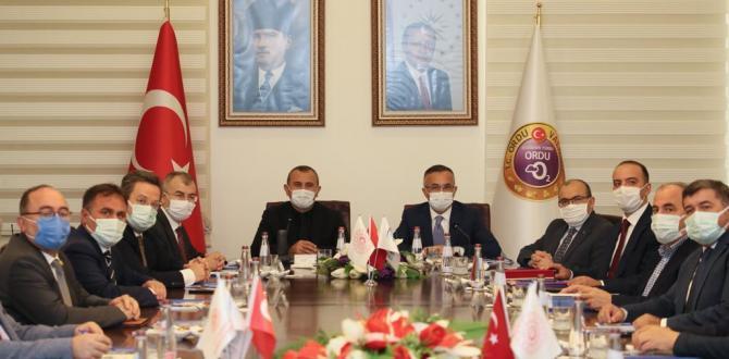 DOKA'nın 133. Yönetim Kurulu Toplantısı Ordu'da Yapıldı