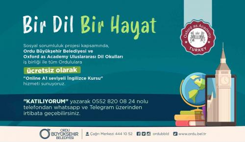 OXFORD İNGİLİZCE KURSLARI DEVAM EDİYOR