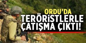 Ordu'da teröristlerle çatışma